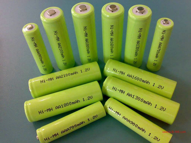 Green 1.2V DVD NIMH Rechargeable Battery AA 2700mAh With ROHS