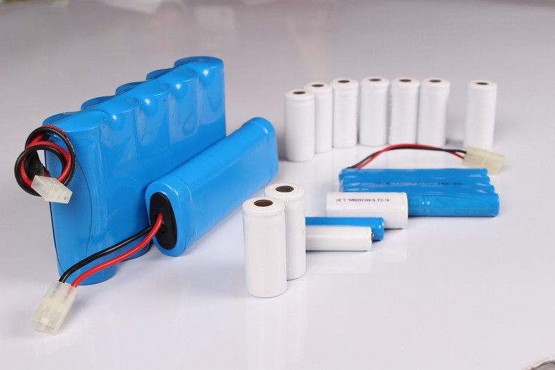 NiCd AA AAA SC C D Rechargeable Batteries , Customized Battery Packs