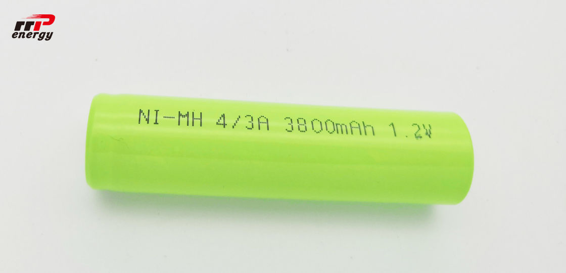 4/3A 3800mAh NIMH Rechargeable Batteriese 17670 NIMH 800 Cycles One Year Guarantee