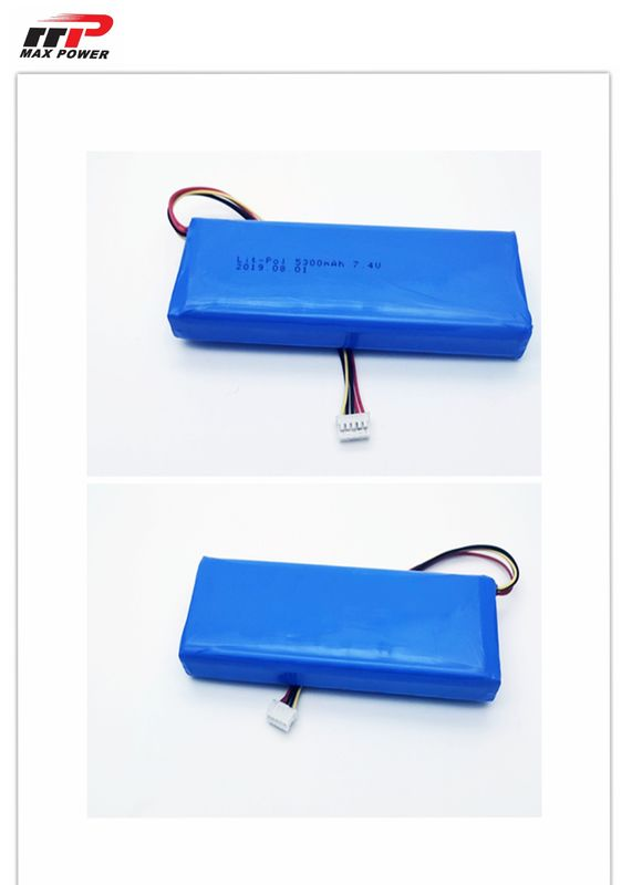 Low Temperature Li Polymer Battery MP8042130 5300 MAh 3.7V For Power Tools